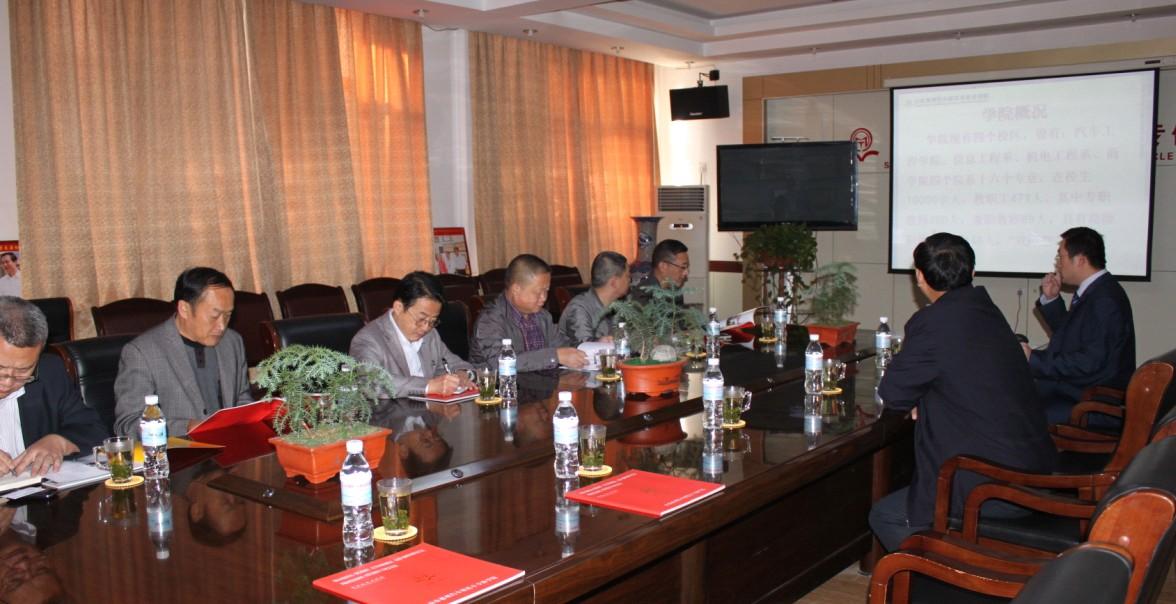 四川省遂宁市教育局领导来我院参观考察
