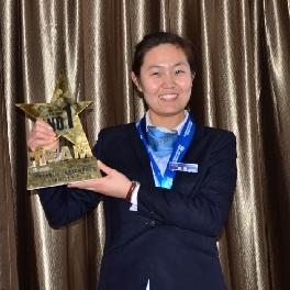 祝贺田雨同学荣获北现首届服务团队锦标赛冠军