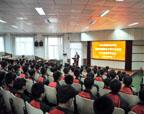 学校与山东科技职业优德88手机app下载举办三二连读合作办学开学典礼
